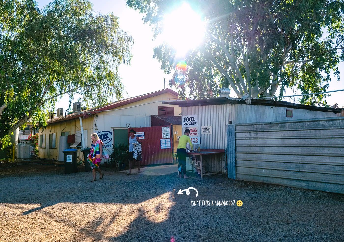 NT Australia - Daly Waters campervan park