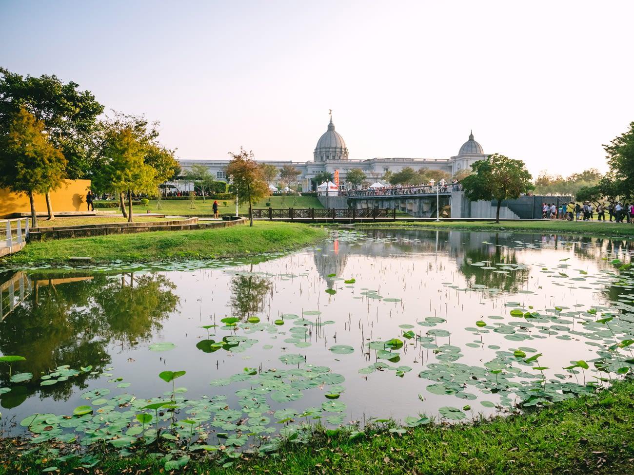 Tainan - Pokemon Go Safari Event - Lake around Chimei museum