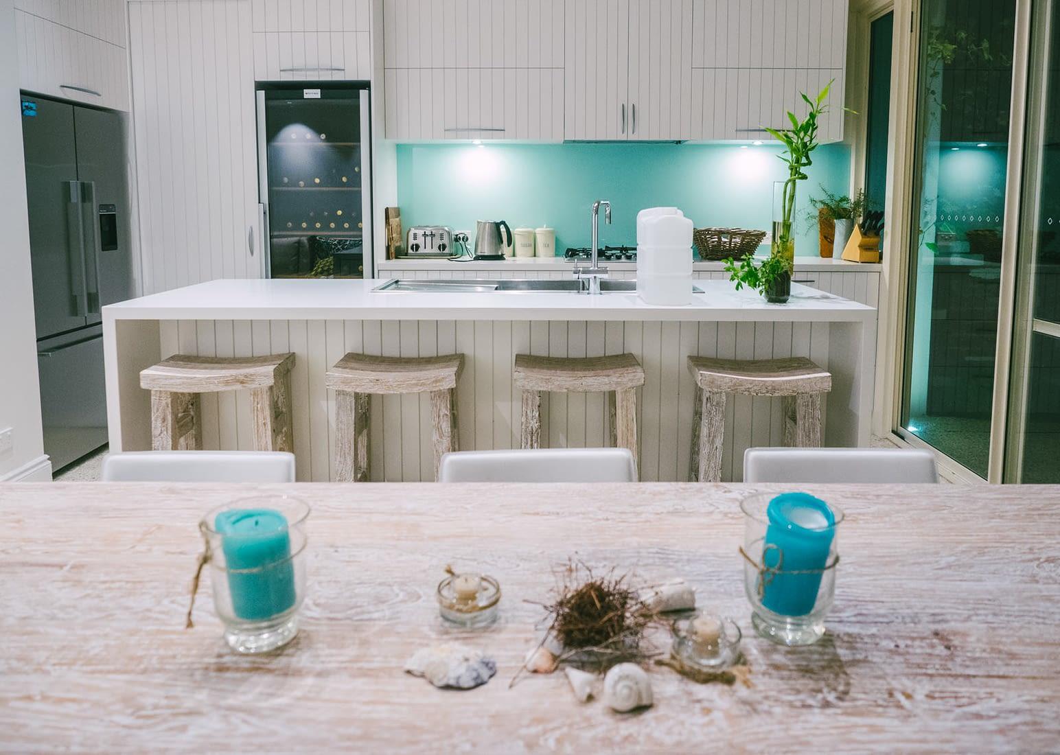 Perth, Australia - Beach Theme Airbnb - Kitchen