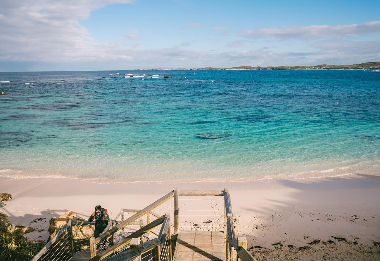 Australia - Rottnest Island - Clear water in Little Salmon Bay