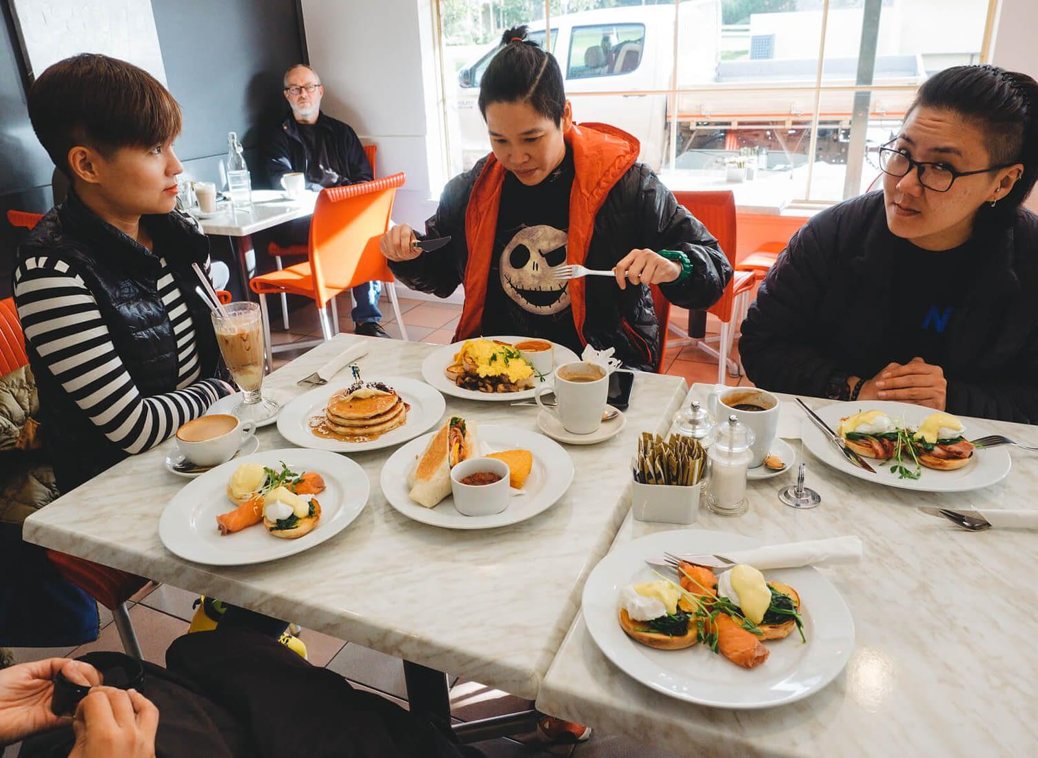 Albany, Australia - Cosi's cafe