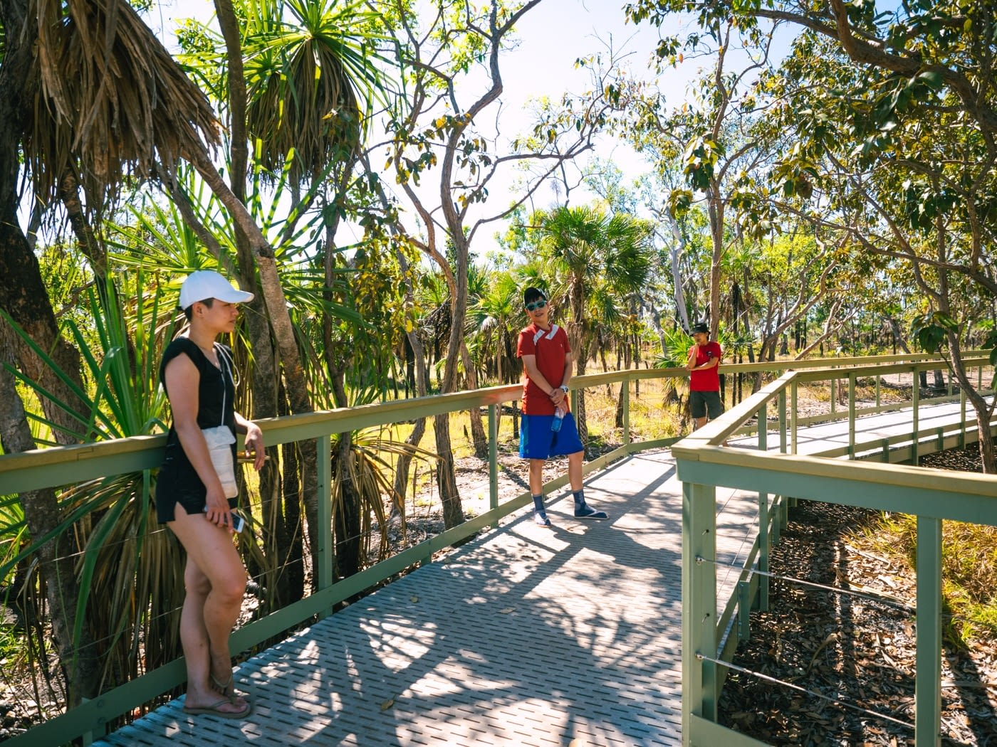 Walking to Litchfield National Park