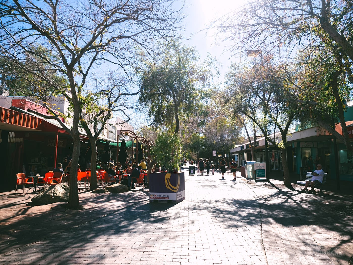NT Australia - Alice Springs - Town
