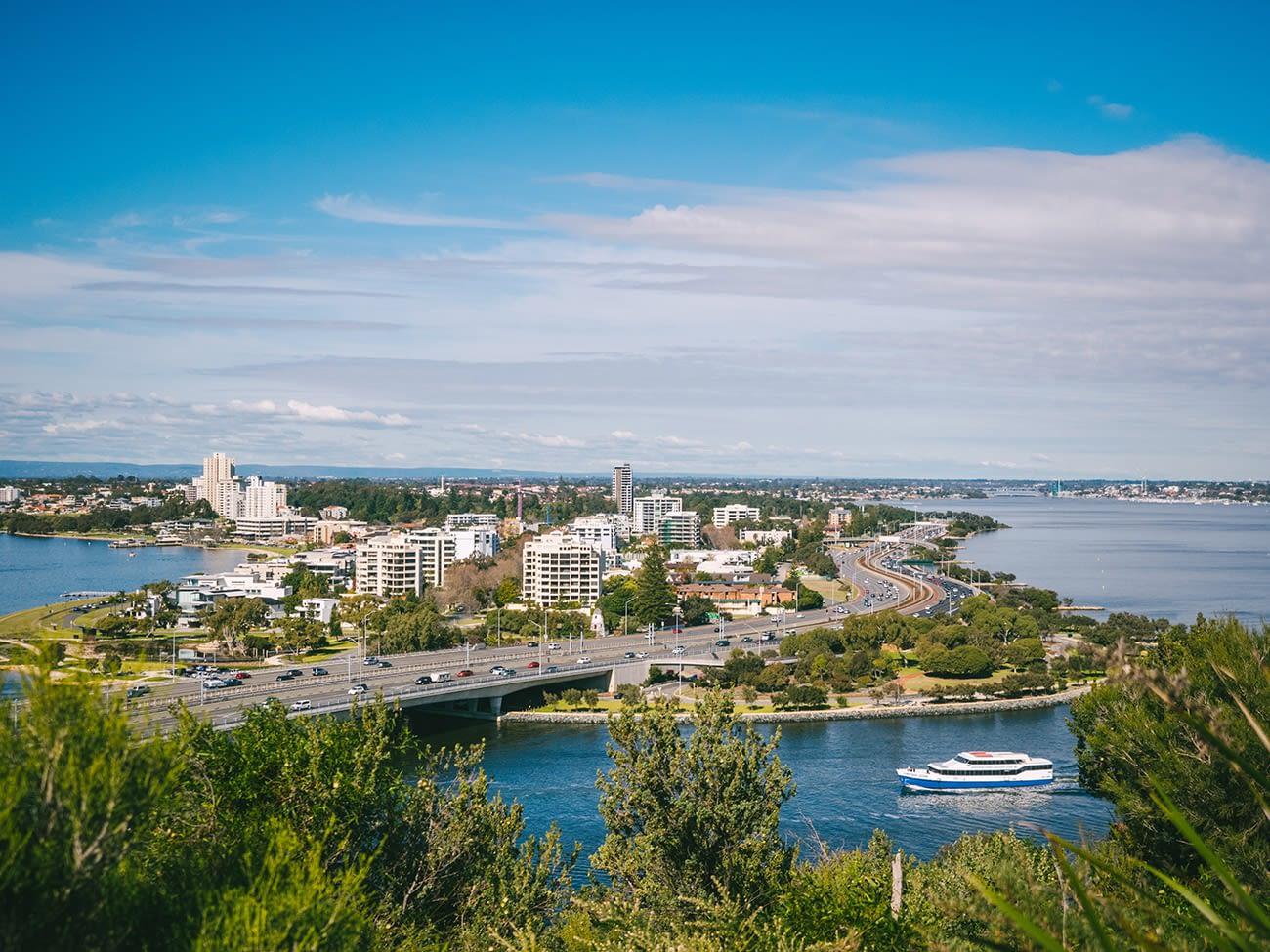Australia - Perth - Kings Park and Botanic Garden View 2