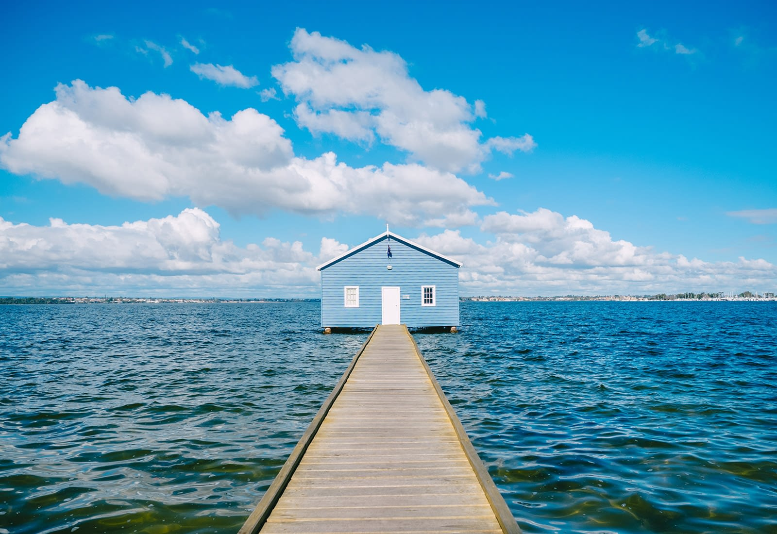 Perth, Australia - Blue Boat House