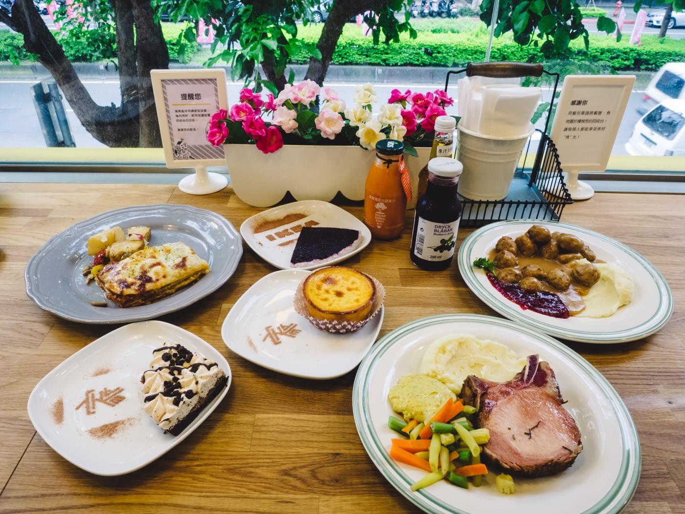 Taiwan - Taipei - Ikea food was yummy!
