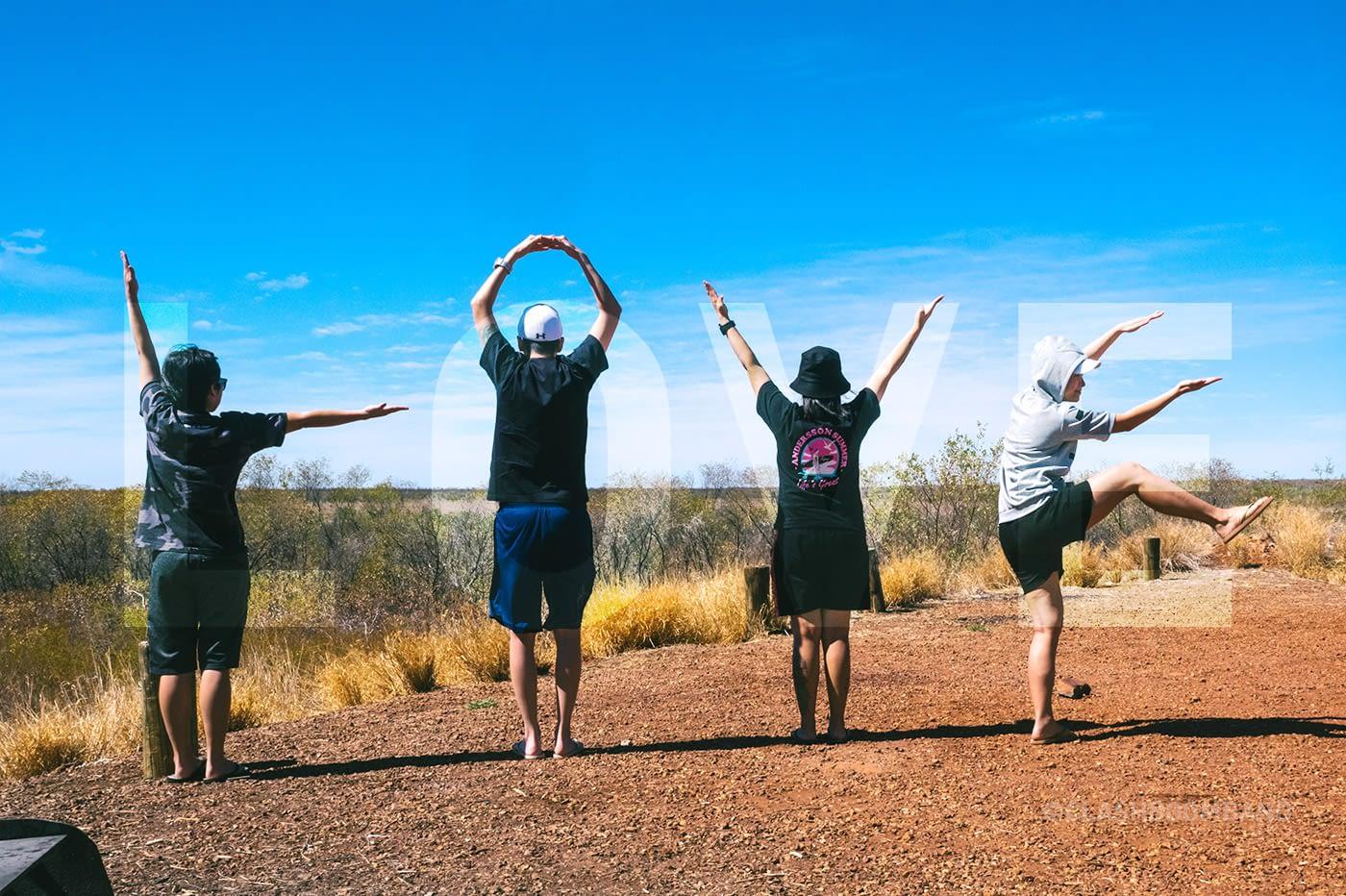 NT Australia - L.O.V.E