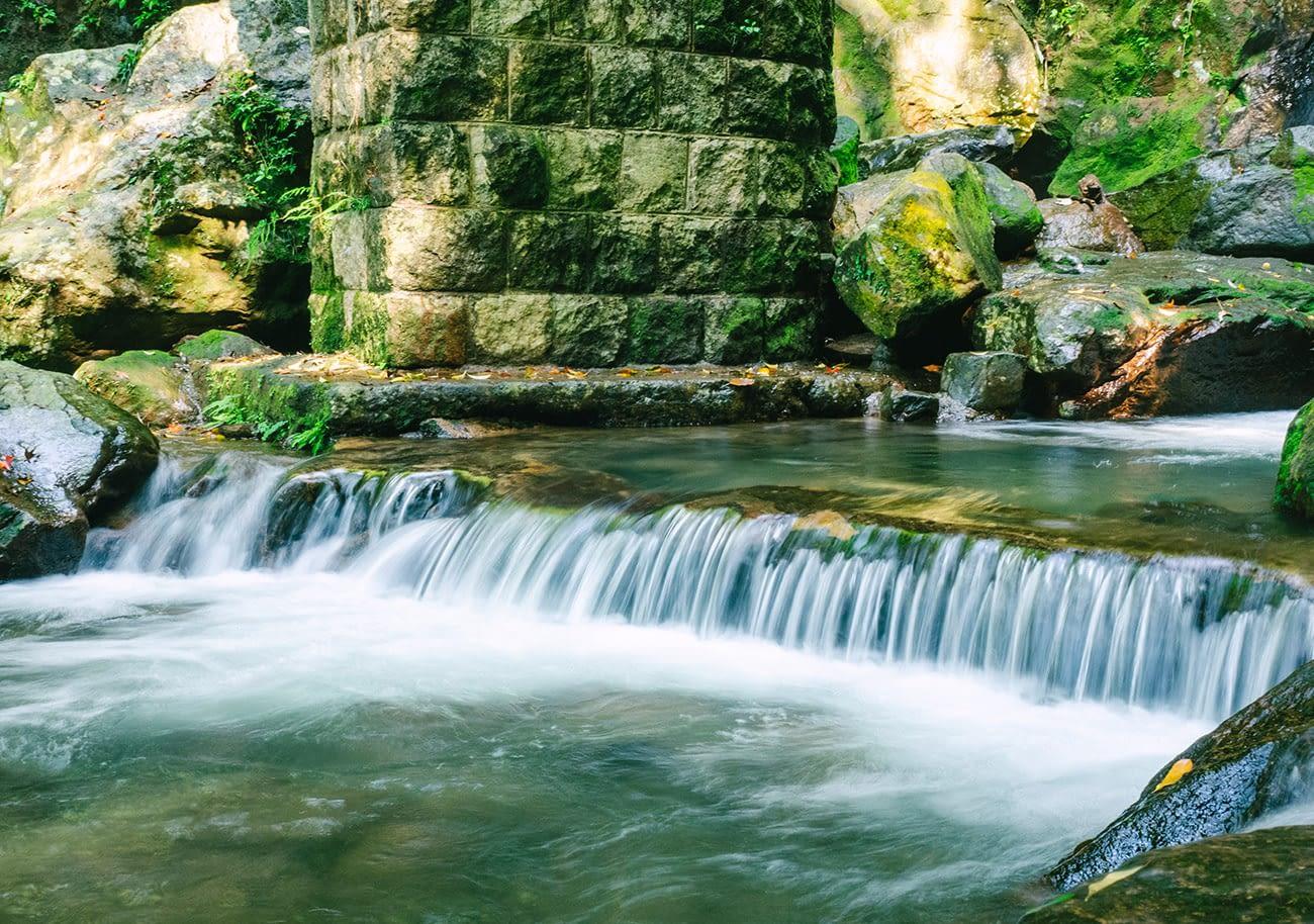 Yangmingshan - Mini waterfall
