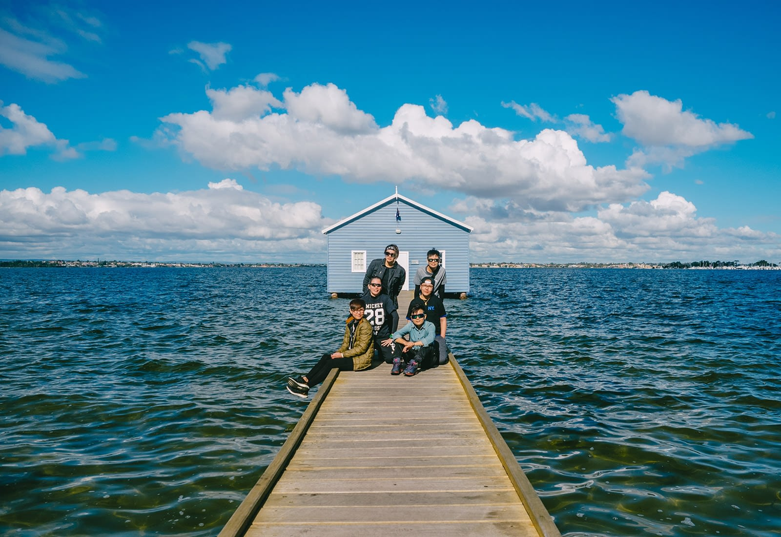 Perth, Australia - Blue Boat House - Groupshot