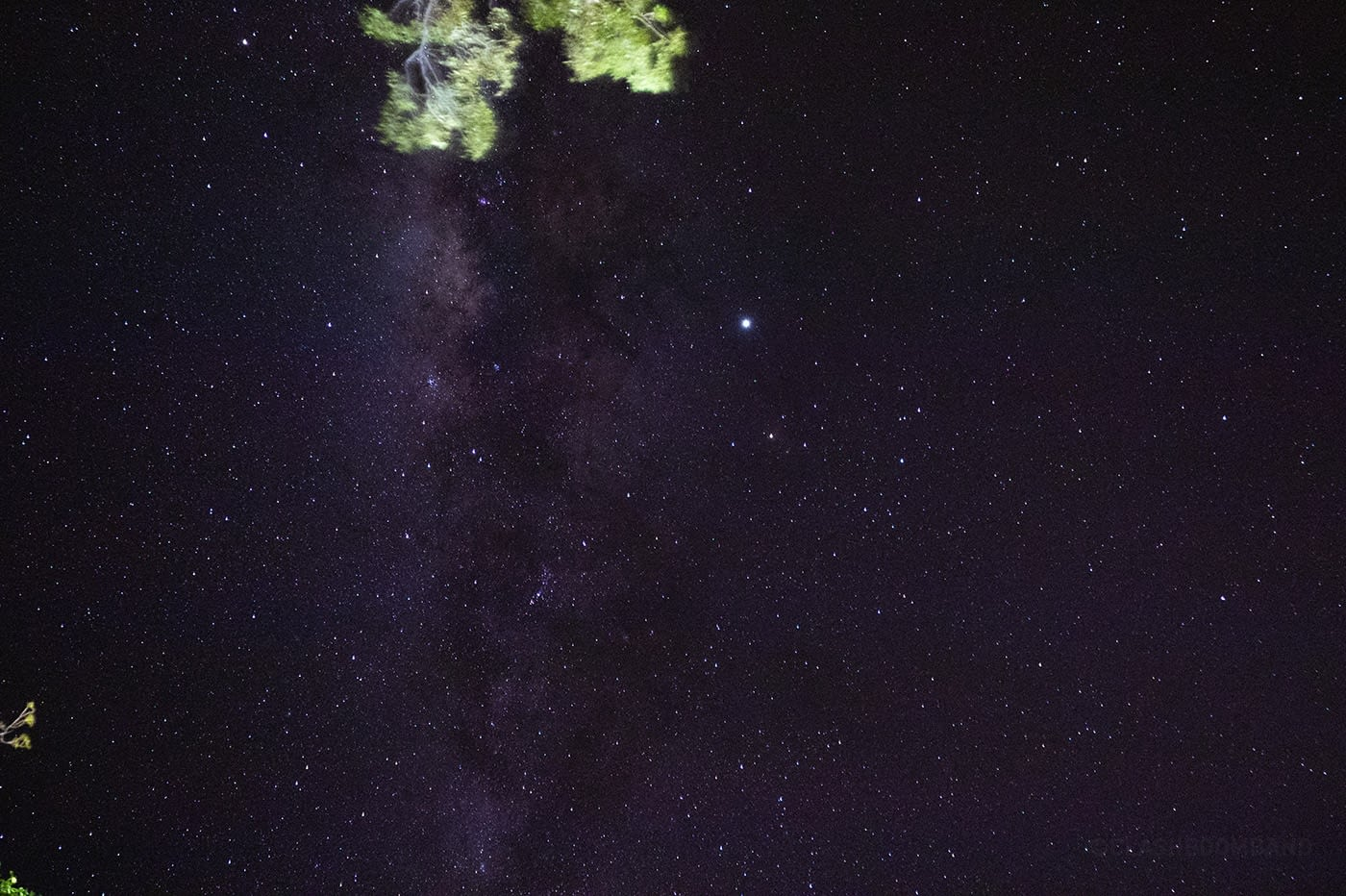 NT Australia - Tennant Creek - Vast milky way sky