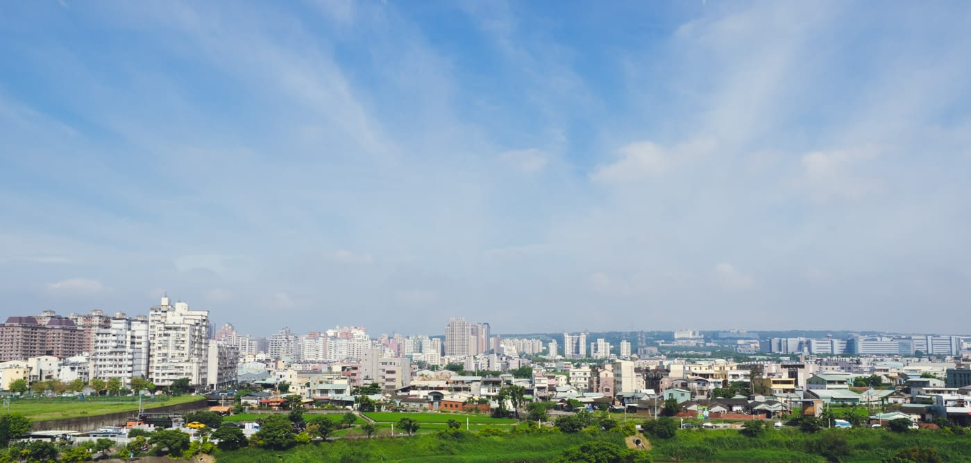 Taiwan - arriving on a great day