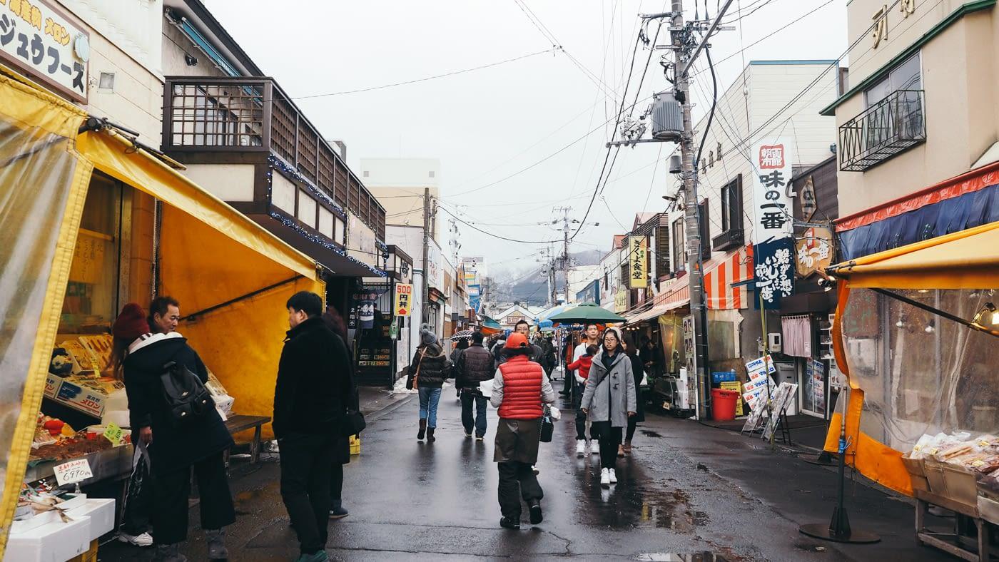 Streets of Hakodate Morning Market