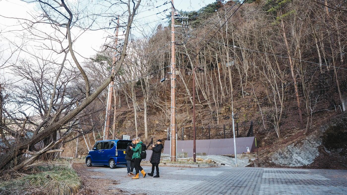 Japan - Mount Fuji - Friends roaming about