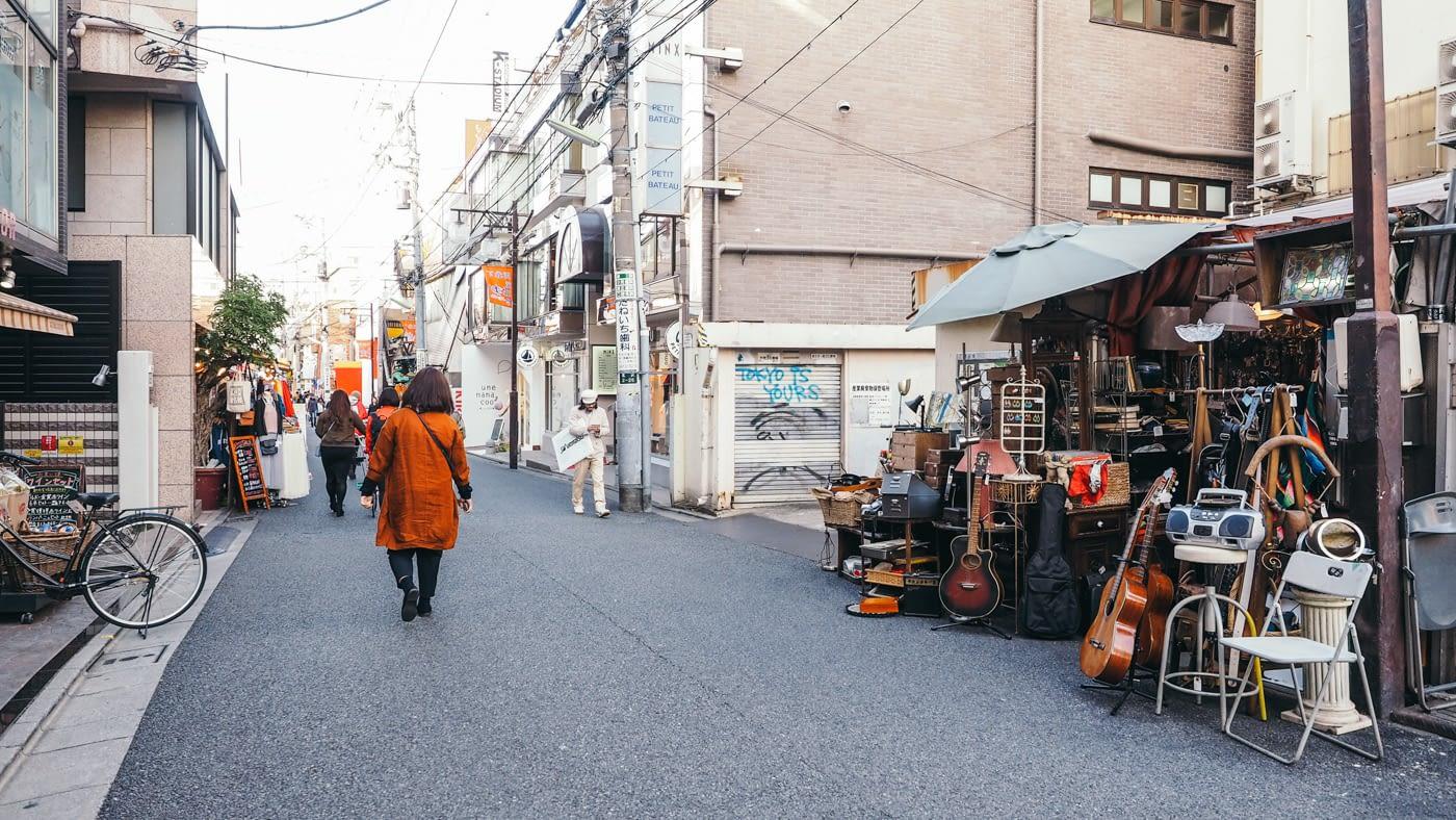 Japan - Shimokitazawa - Indie street