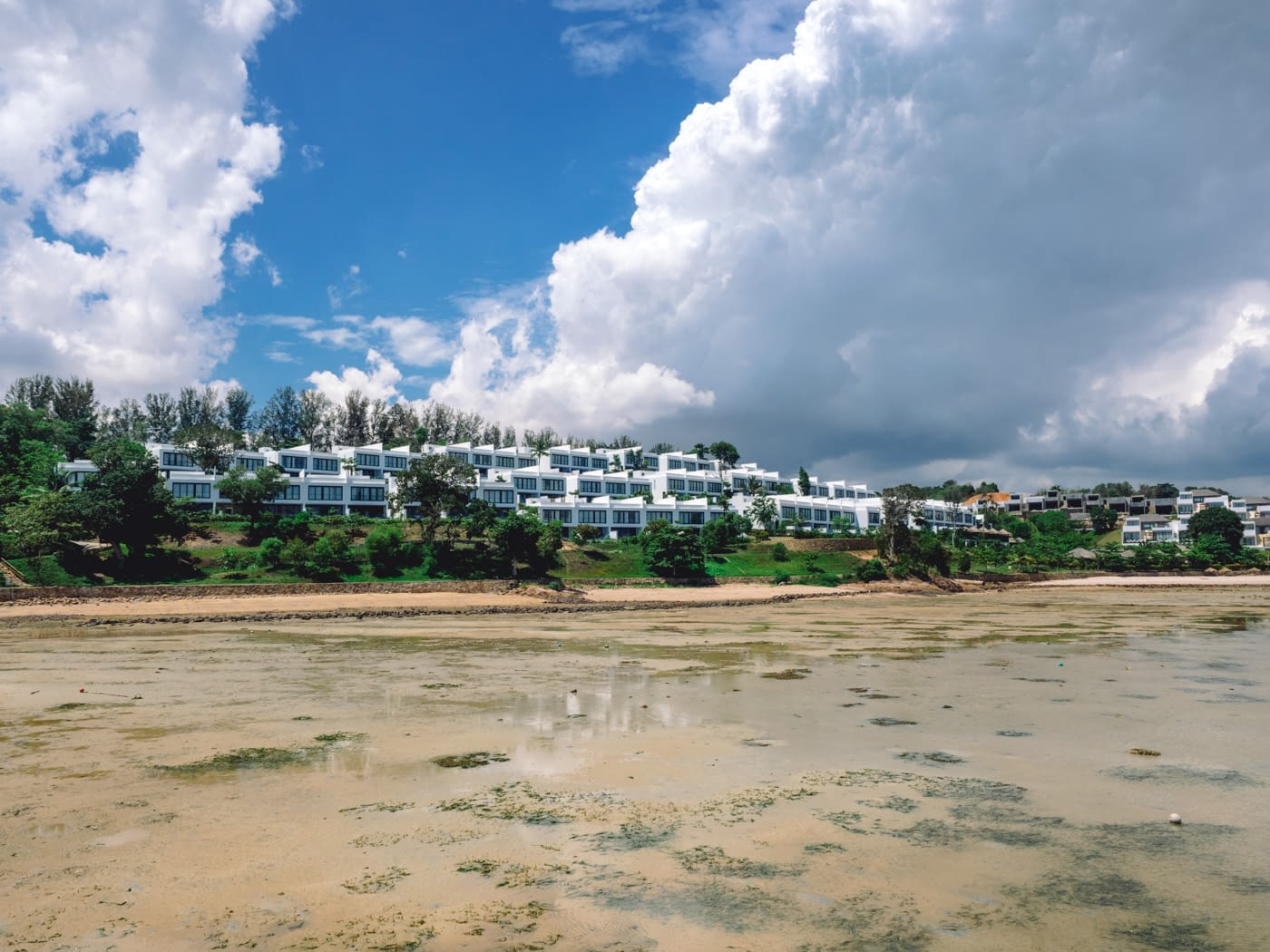 Indonesia - Montigo - View of the resort from the bridge