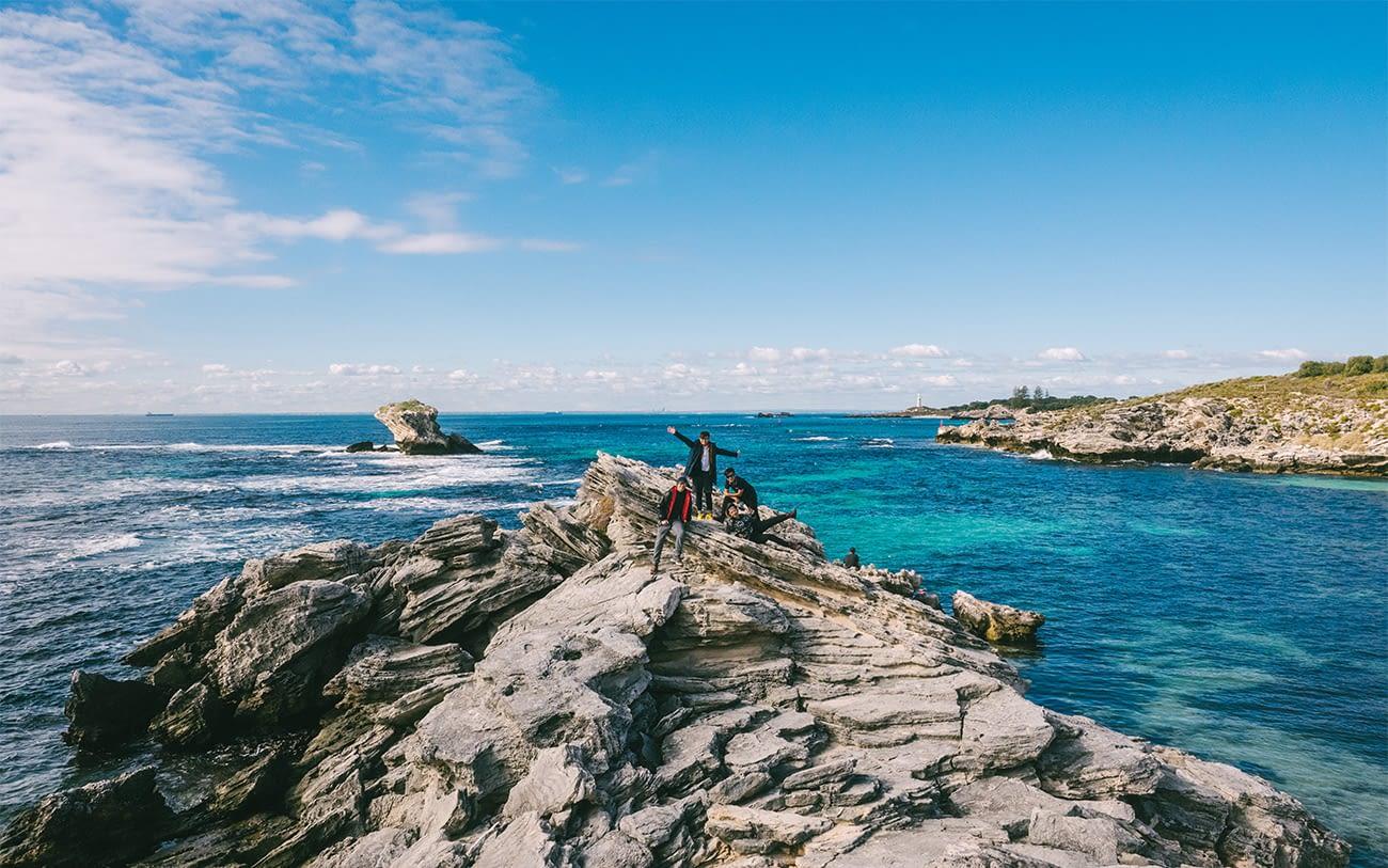 Australia - Rottnest Island - Take pic at Fay's Bay