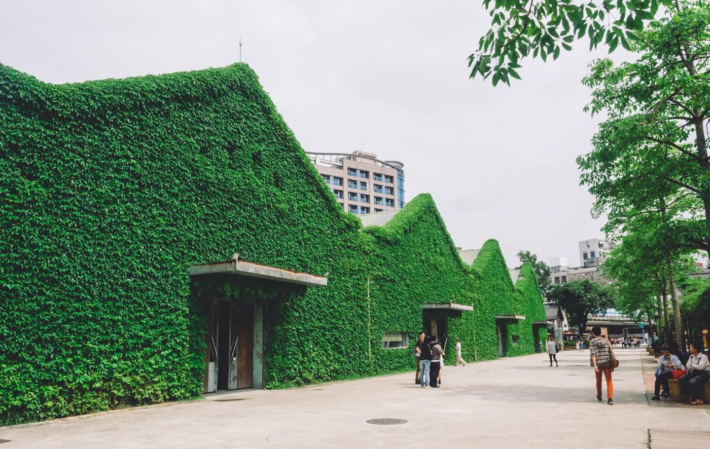 Taiwan - Huashan 1914 Creative Park - Green buildings