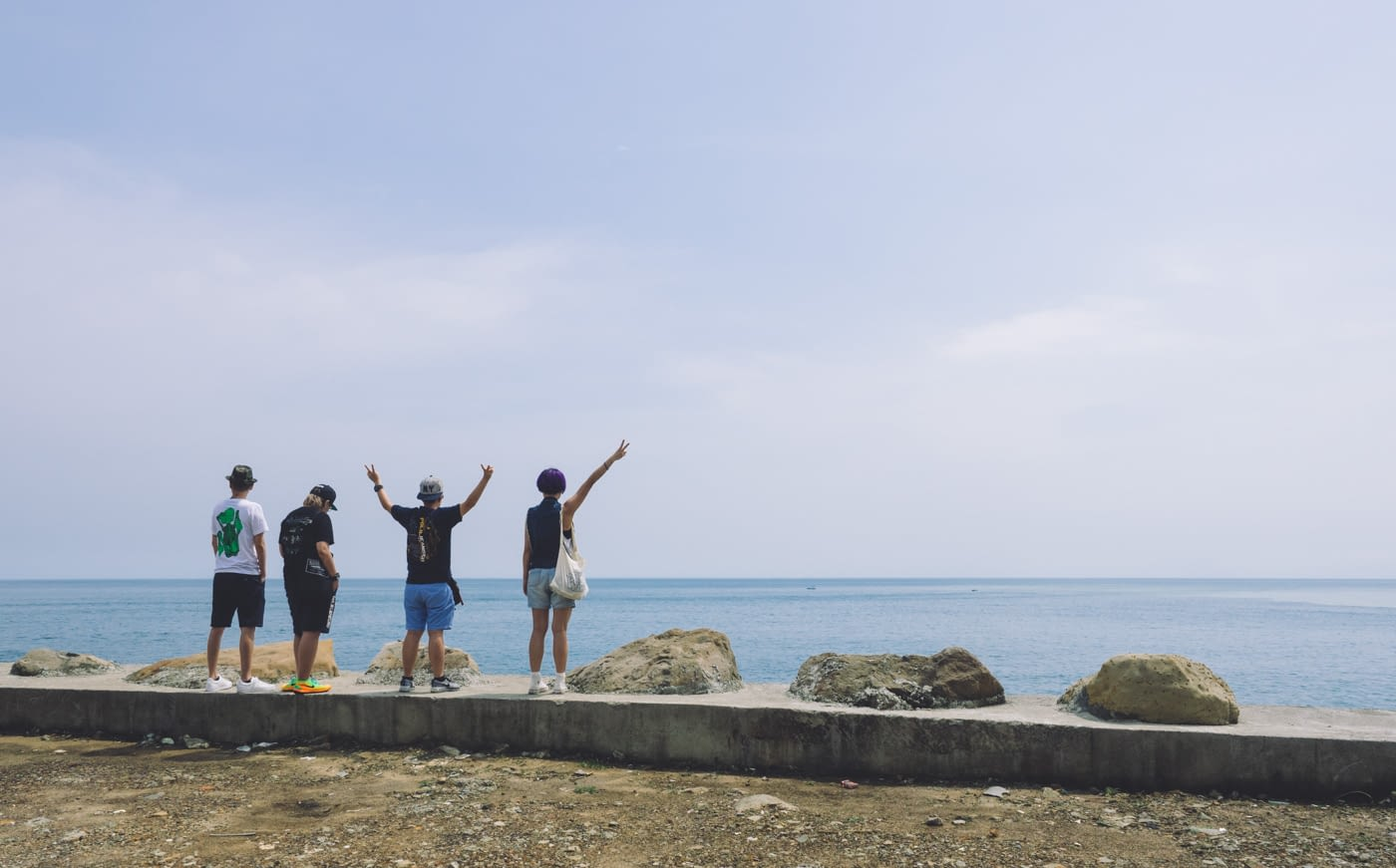 Taiwan - New Taipei City - Yingyang sea