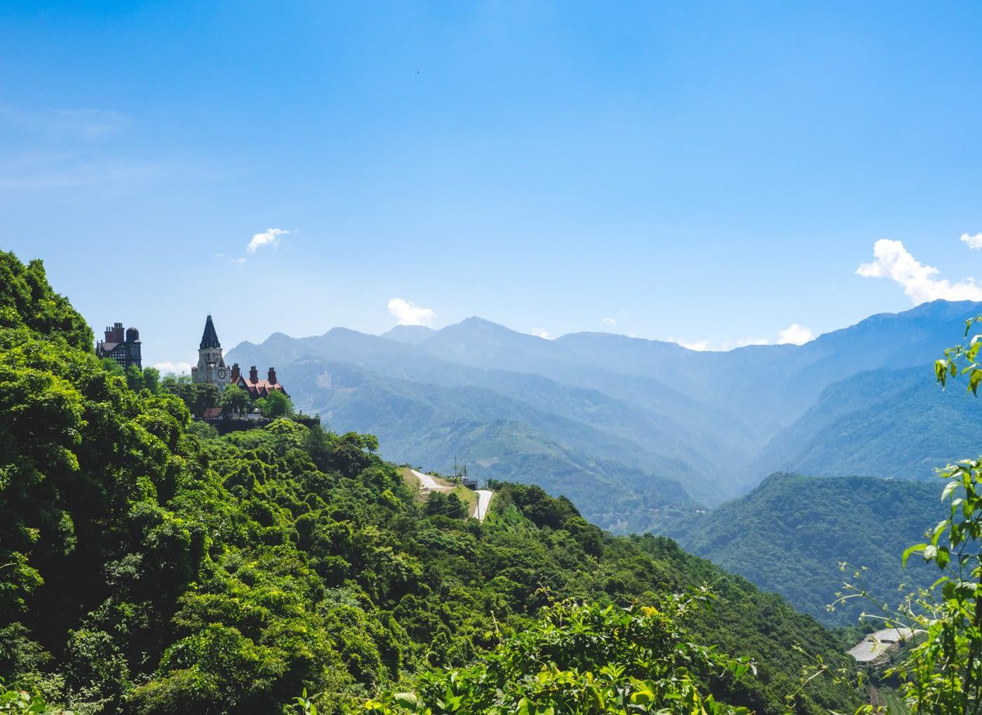 Taiwan - Qingjing - Castle with a clock