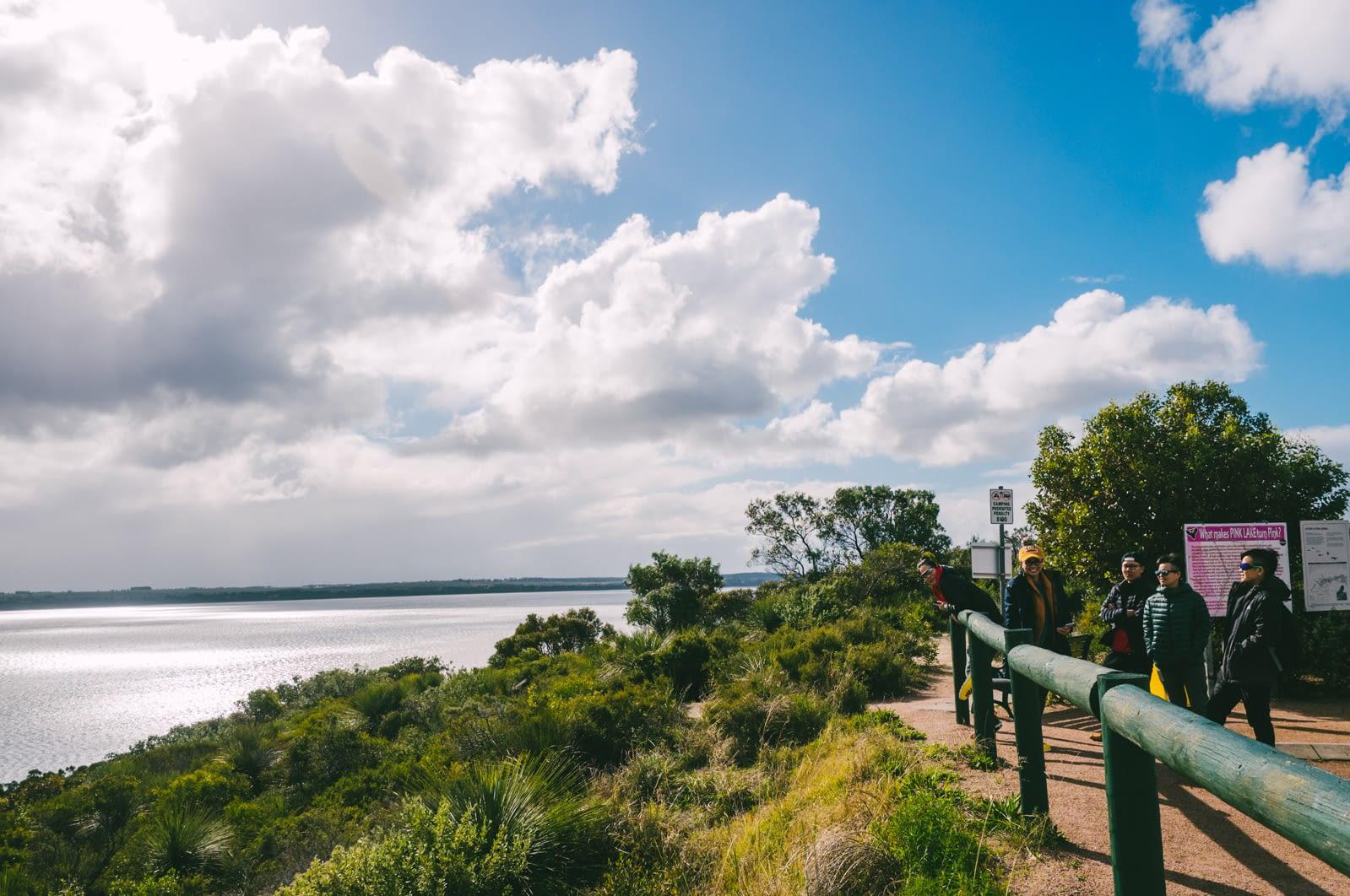 Perth - Esperance - Pink Lake lookout