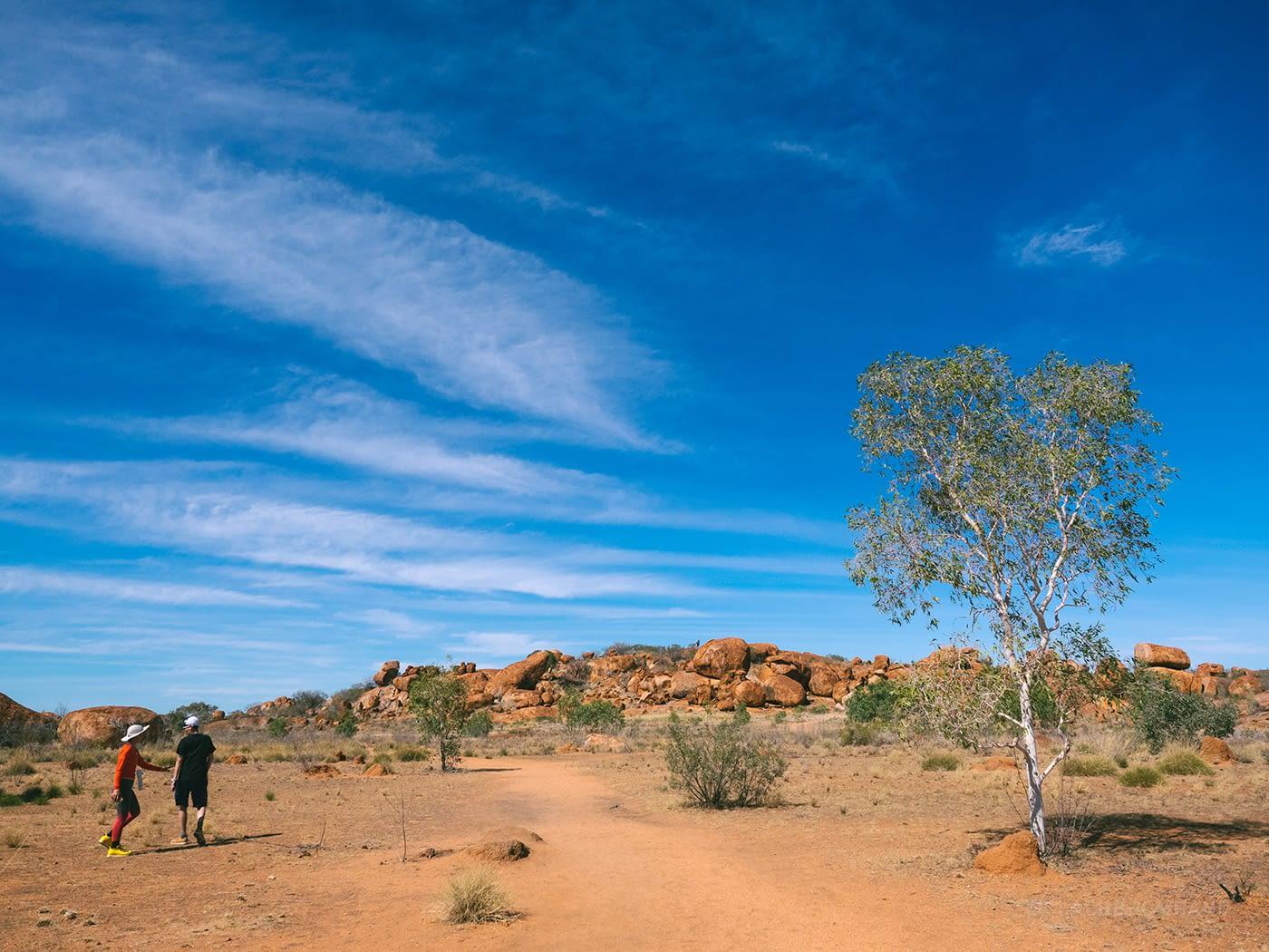 NT Australia - Karlu Karlu - Entrance to Devils Marbles