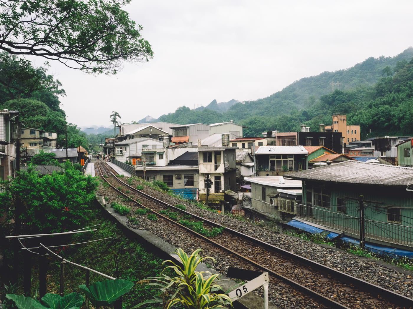 Taiwan - Shifen - Railway track