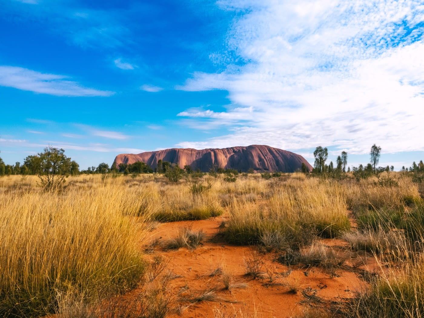 NT Australia - Spending the morning at Uluru