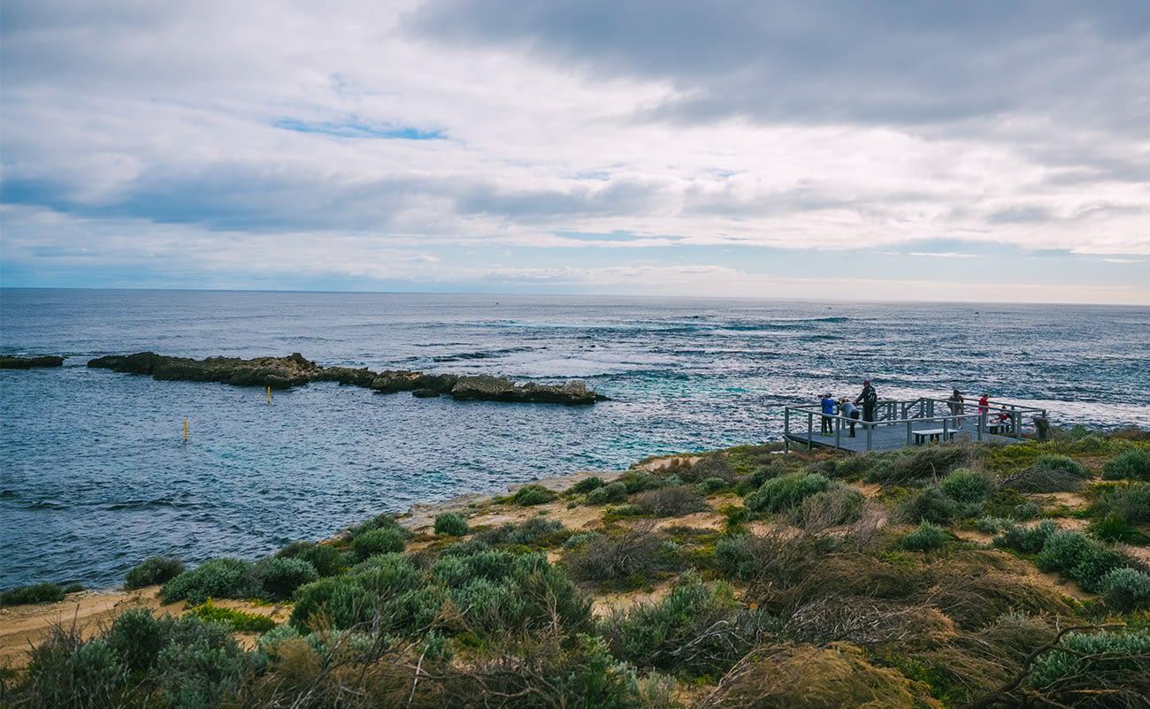 Australia - Rottnest Island - The Cathedral Rocks viewing platform