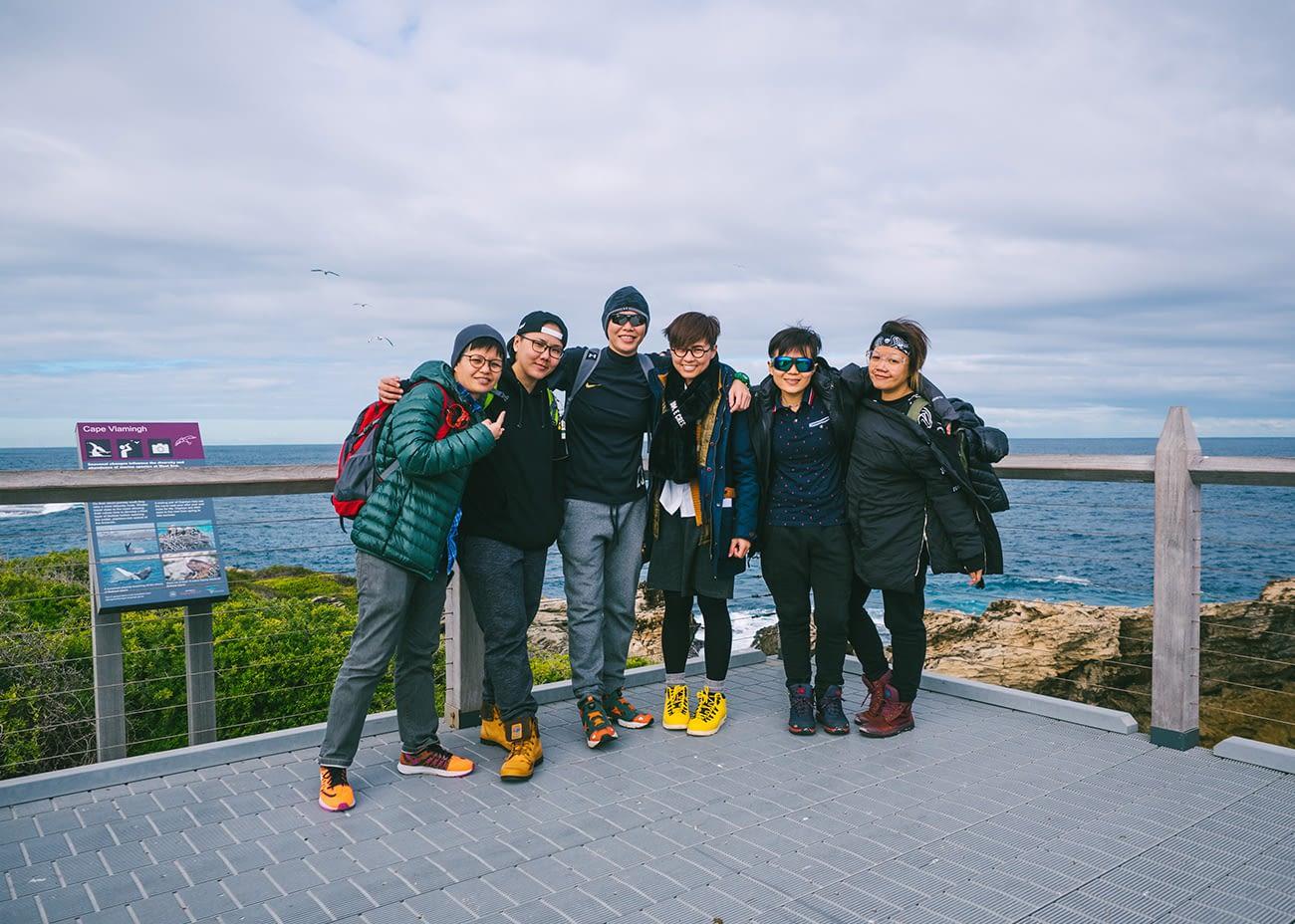 Australia - Rottnest Island - Cape Vlamingh Coastline groupshot